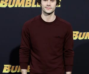 Dylan O'Brien at the Bumblebee premiere. 💙