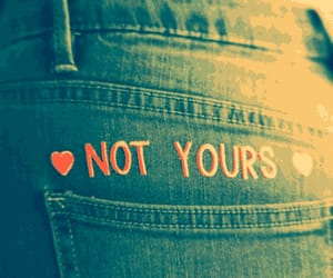 boys, not yours, and girls image