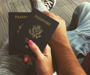 travel, love, and couple image