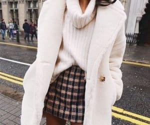 fashion, skirt, and winter image
