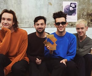 the 1975, ross macdonald, and matty healy image