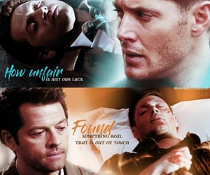 aesthetic, otp, and supernatural image