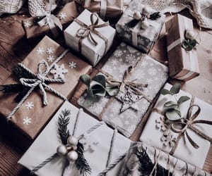 christmas, gifts, and present image