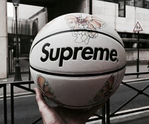 supreme, theme, and Basketball image