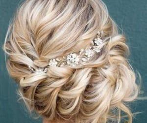 belleza, moño, and pelo image