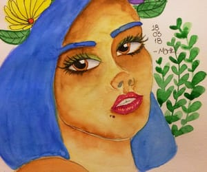 cores, watercolour, and art image