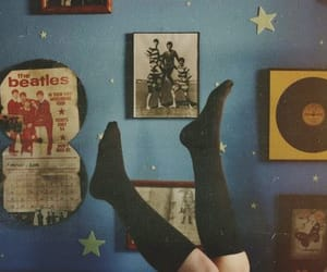 beatles, vintage, and room image