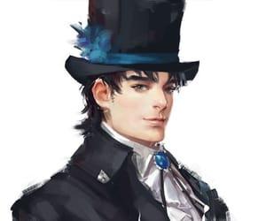 anime, blue, and fanart image