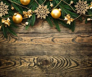 christmas, december, and wooden image