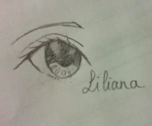 drawing and anime eyes image