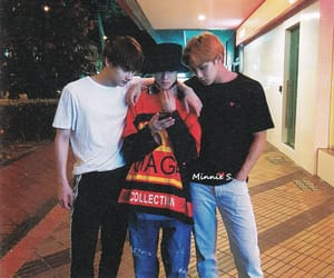 jun, Seventeen, and mingyu image