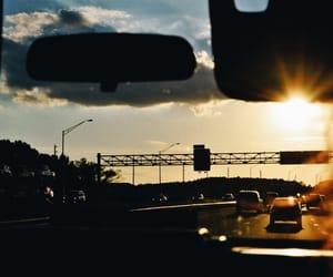 car, florida, and car ride image
