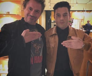 robert downey jr, rami malek, and actor image