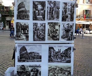 art, italy, and rome image