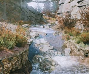 fallout, nature, and stream image