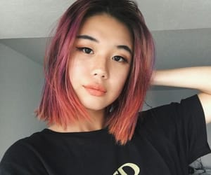 hair, orange, and asian image