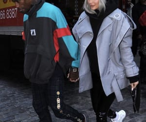 kylie jenner, travis scott, and style image