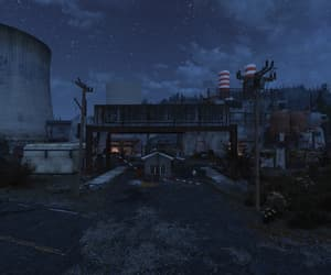 deserted, fallout, and night image