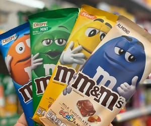 candy, m&ms, and sweets image