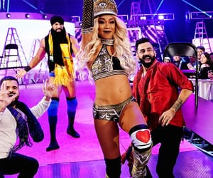 wwe, alicia fox, and jinder mahal image