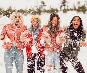friendship, goals, and snow image
