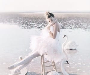 ballet, pretty, and water image