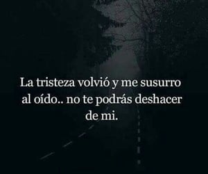 frases, vid, and triste image