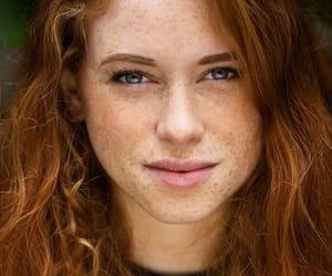 freckles, red, and red head image