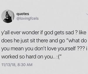 love god, be happy, and love yourself image