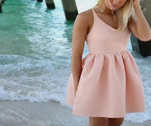 pink homecoming dresses, modest homecoming dresses, and homecoming dresses simple image