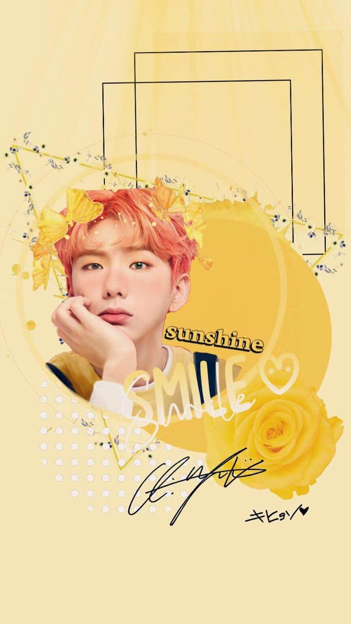 Yellow Aesthetic Kihyun Uploaded By Yooniverse