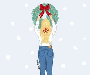 chicas, merry christmas, and feliz navidad image