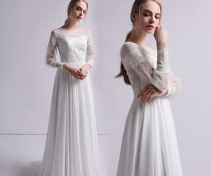 bridal, wedding dresses 2019, and bridal gown image