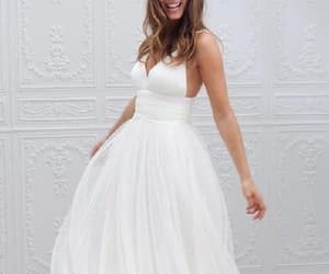 simple wedding dress, custom party dresses, and wedding dress backless image