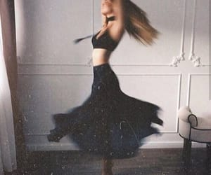 dance, black, and dress image