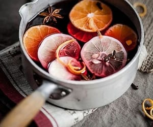 autumn, drink, and mulled wine image