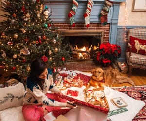 Christmas time, sweet home, and winter image