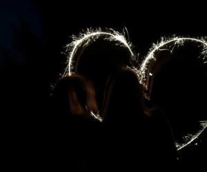 fun, night, and lights image