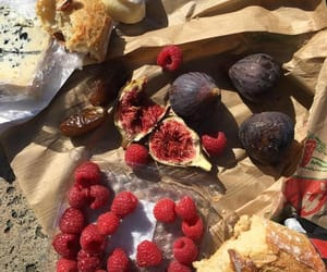 berries, blogger, and cheese image