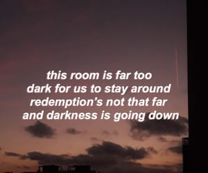 aesthetic, Lyrics, and night sky image