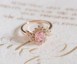 ring, gold, and jewelry image