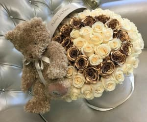 flowers, bouquet, and chic image