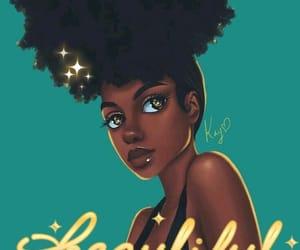 melanin, art, and beautiful image