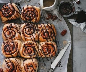biscuits, Cinnamon, and cinnamon rolls image