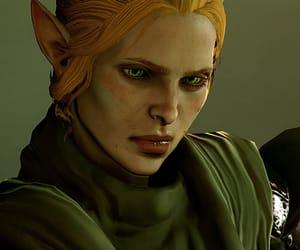 elf, fantasy art, and dragon age image