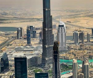 Dubai, burj khalifa, and 🌎 image