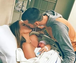 love, girl, and baby image