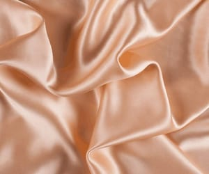background, peach, and silk image