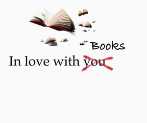 book, books, and love image