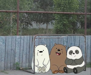 bears, cartoon, and bare bears image